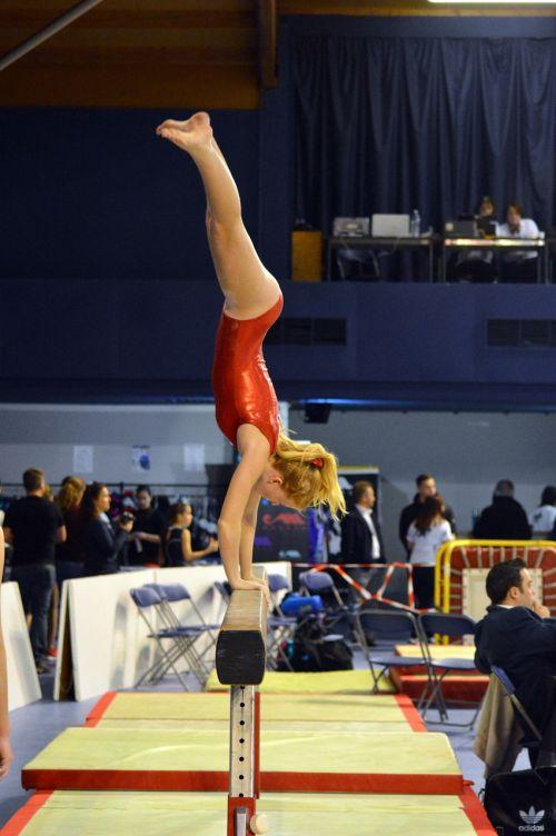 competition gymnastics sport