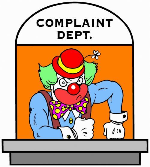 Complaints - The Clown