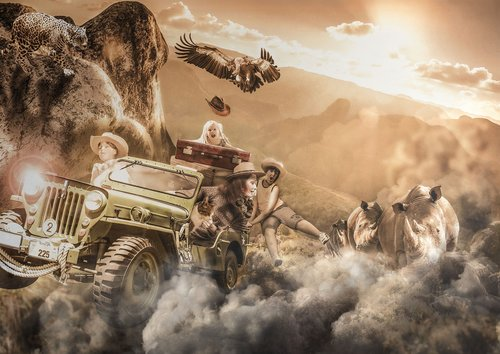 composite  compositing  jeep