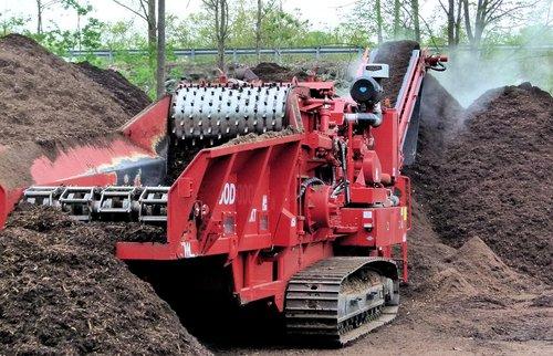 compost grinder  compost  chipper
