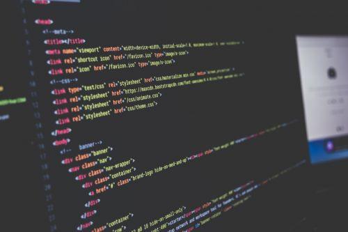 computer computer code screen
