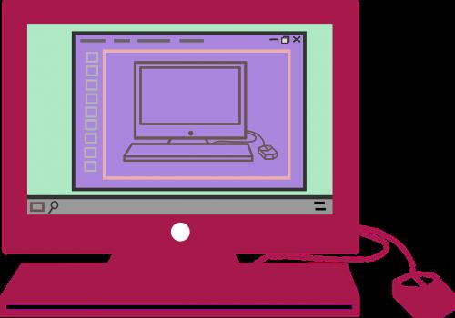 computer screen desktop