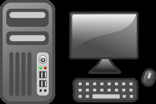 computer desktop computer monitor