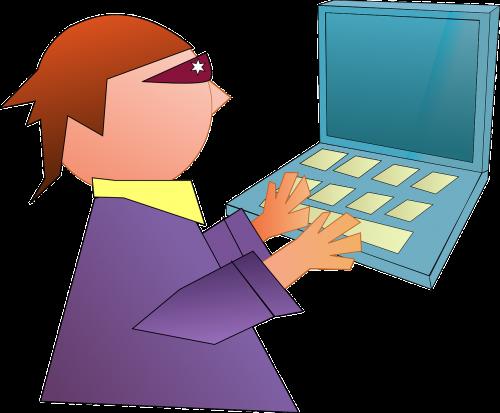 computer geek hacker