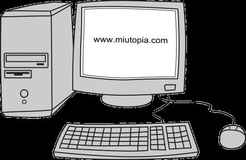 computer desktop crt monitor