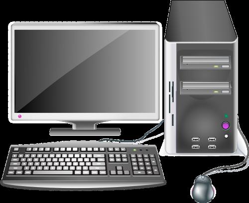 computer desktop workstation