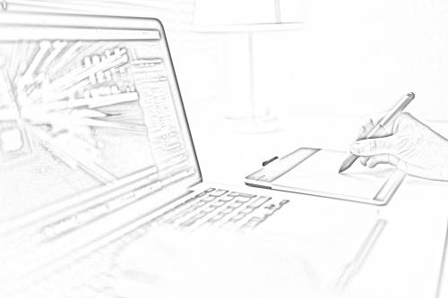 computer sketching working