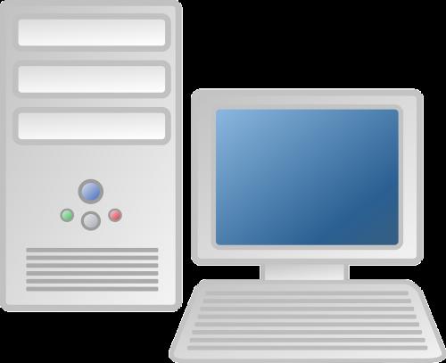 computer workstation desktop