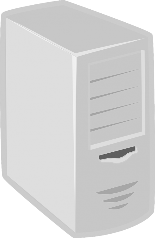 computer server grey