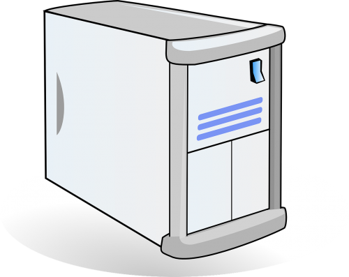 computer server gray