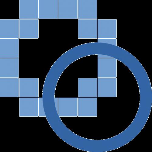 computer blue tools