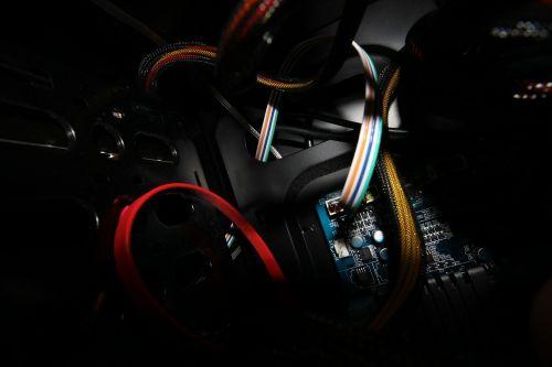 computer components cables