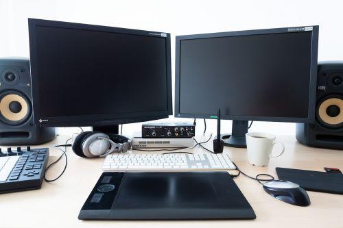 computer calculator workplace
