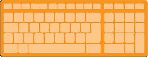 computer plan keyboard