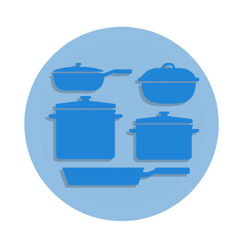 computer icon cooking food