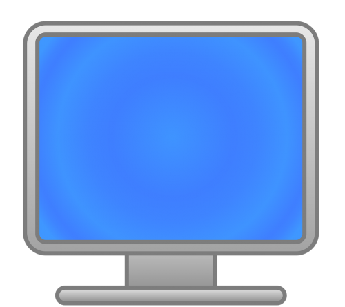 computer screen png workplace