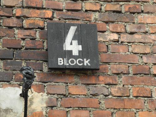 concentration camp poland block 4