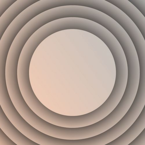 Concentric Apricot Disks