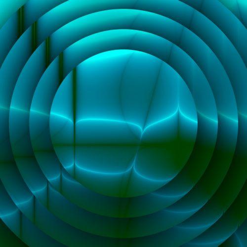 Concentric Blue Current
