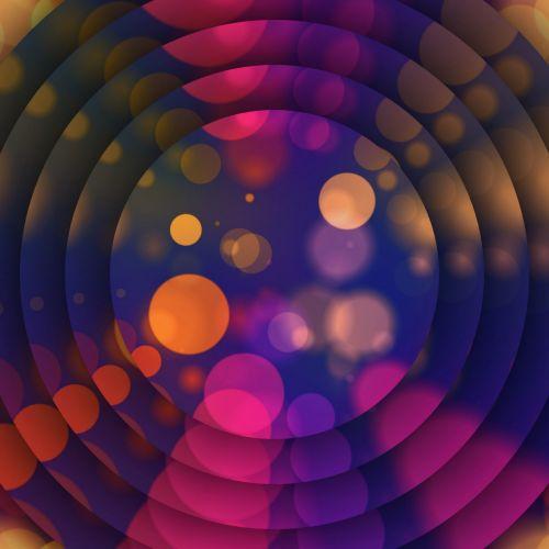tapetai, koncentrinis, diskai, spalva, taškai, Bokeh, tikslas, taikinys, gradientas, figūra, menas, geometrinis, koncentriniai taškai