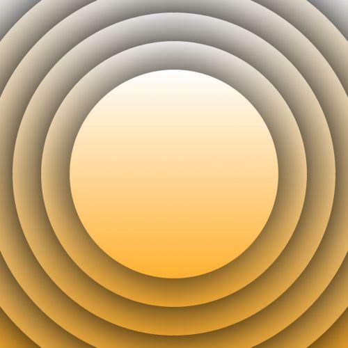 Concentric Orange Circles