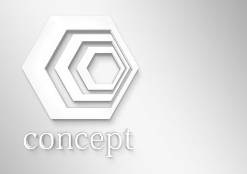 concept logo expressionless