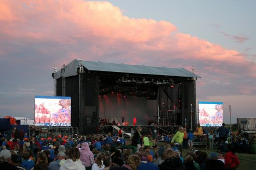 concert stage festival