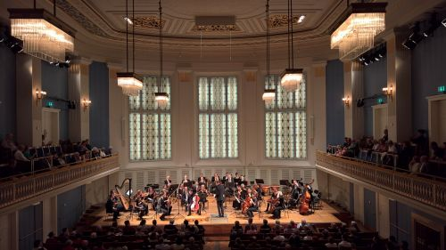 concert concert hall chamber orchestra