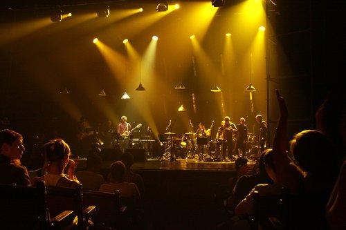 concert  spotlight  scene