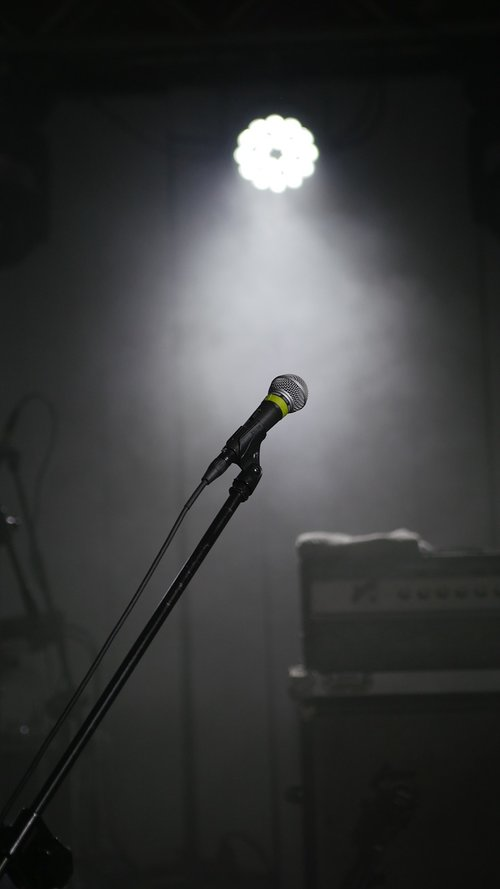 concert  microphone  event
