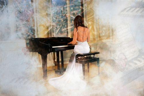 concert woman pretty