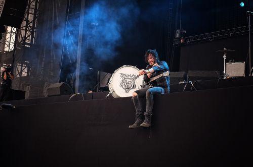 koncertas, valdytojas, rock werchter, leuven, Belgija