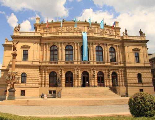 concert hall  prague  czechia
