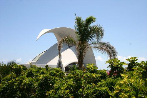 concert hall tenerife canary islands