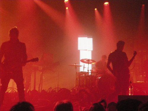 Concert Red Lights