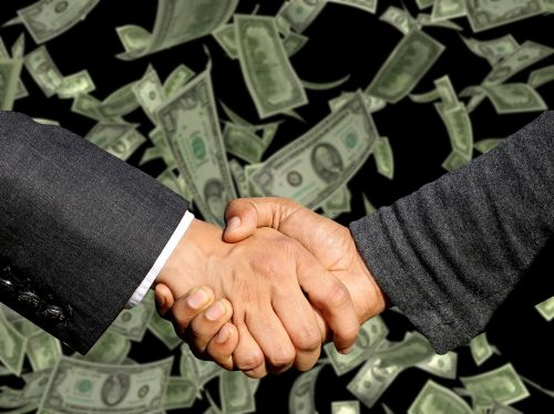 conclusion of the contract handshake trade