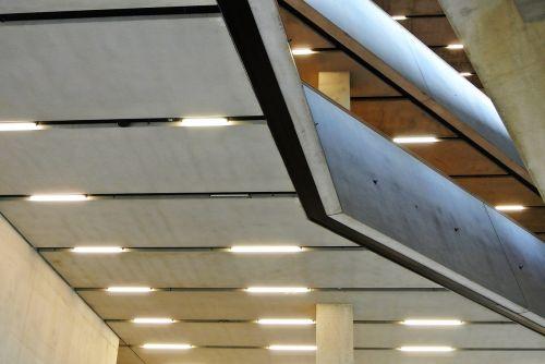 concrete interior sleek