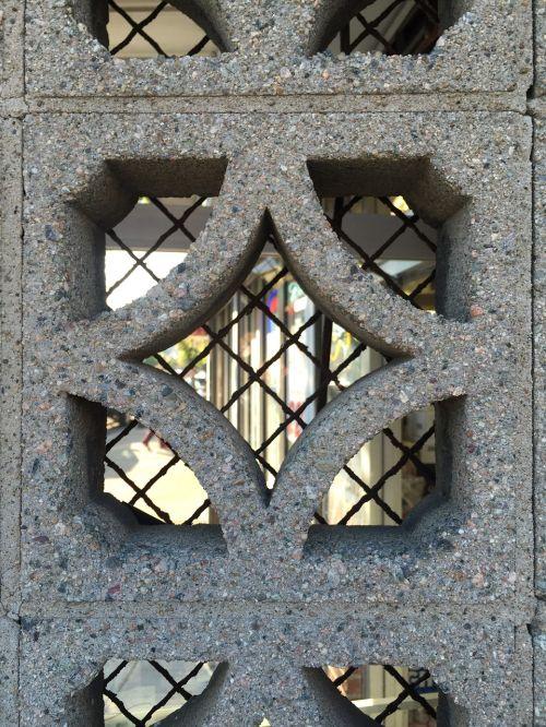 concrete chainlink texture
