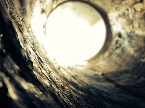 concrete hole tube