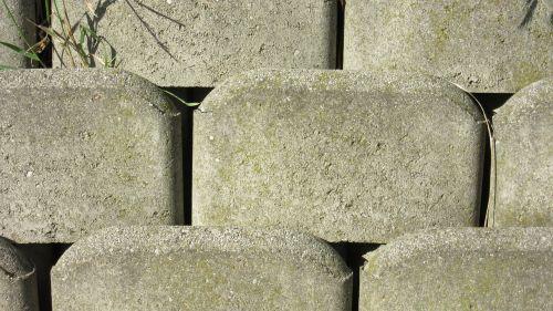 concrete brick rauh