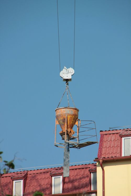 concrete container crane
