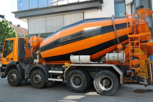 concrete mixer concrete mixing vehicle vehicle