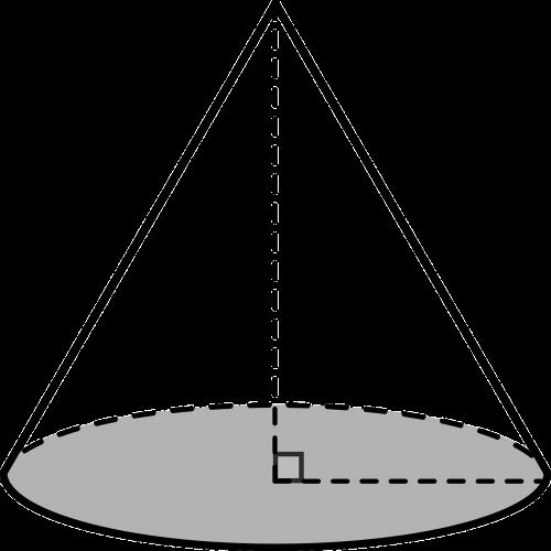 cone solid rectangular