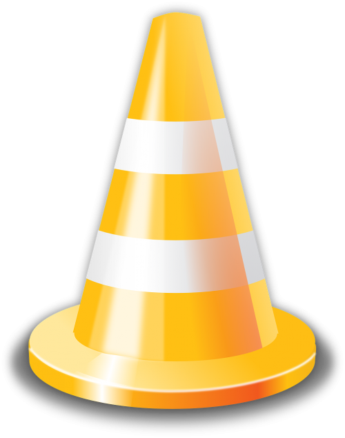 cone danger traffic