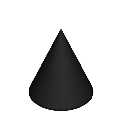 cone cone-shaped shape