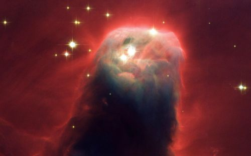 cone nebula dark nebula constellation unicorn