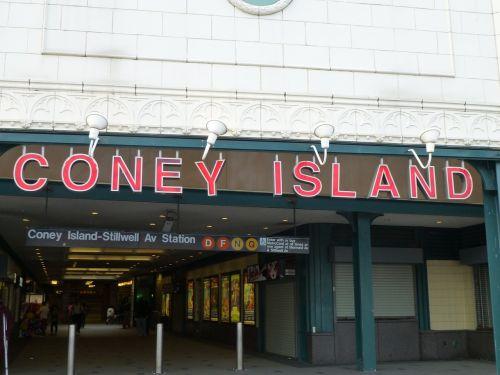 coney island brighton beach usa