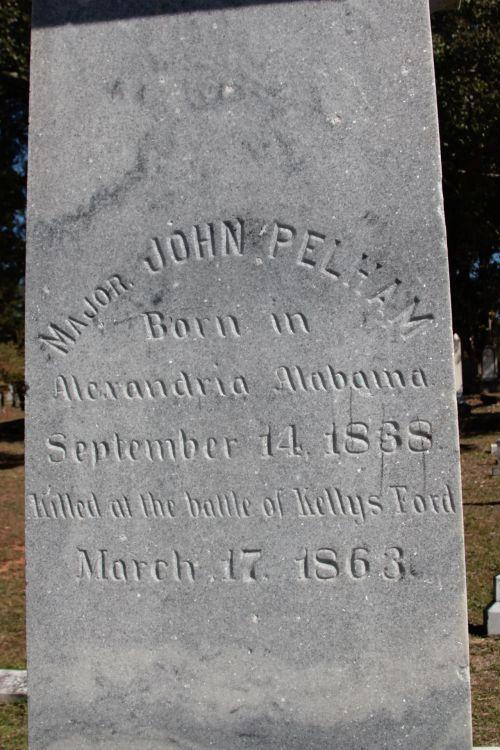 Confederate Hero's Marker