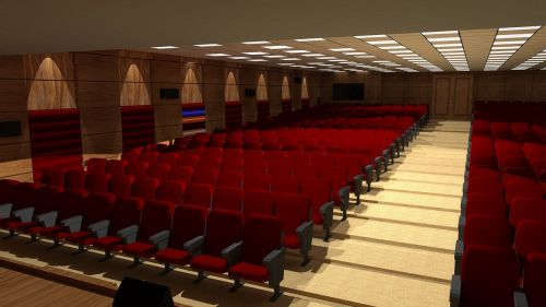conference salon render
