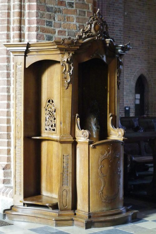 confessional confession church